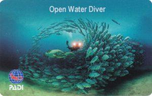 Open Water Diver Brevet